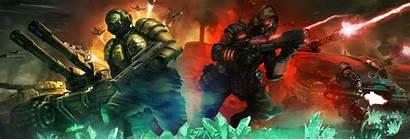 Nod Gdi Tiberium Conquer Command Alliances Concept