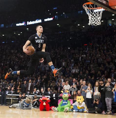 zach lavine repeats  slam dunk contest  seattle times