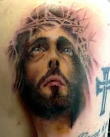 Jesus Christ Portrait Tattoo
