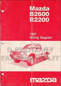Mazda B2200 Wiring Diagram