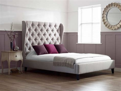 tall upholstered bed homesfeed