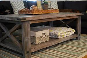 ana white rustic x coffee table diy projects With how to build a rustic coffee table