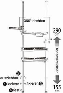 Regal Für Waschmaschine : badregal teleskopregal wc bad waschmaschine regal 3 ablagen new bz4109 bz4110 ebay ~ Sanjose-hotels-ca.com Haus und Dekorationen