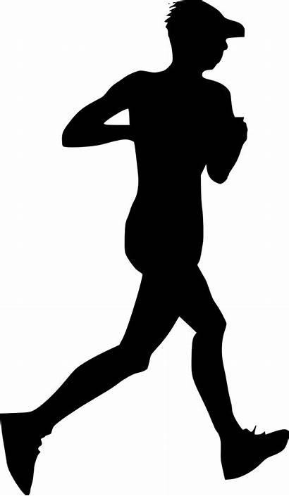 Running Silhouette Transparent Clip Person Clipart Emoji