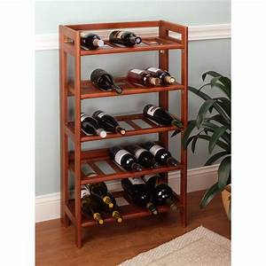 Accentuate, Your, Home, With, A, Wood, Wine, Rack