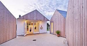 ophreycom maison contemporaine bardage bois With couleur gris anthracite peinture 11 toit plat bac acier
