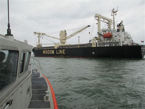 Coast Guard Investigating Collision On Houston Ship