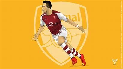 Alexis Arsenal Sanchez Cartoon Wallpapers Cool Background
