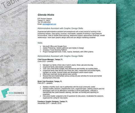 Resumes For Stay At Home by Stay At Home Resume Exle Organize Your Transition