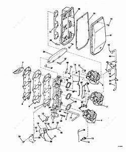 Evinrude 1981 75 - E75trlcim  Intake Manifold