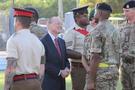 UK has no hidden agenda re regiment, says governor ...