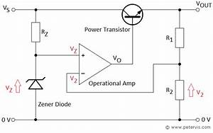 voltage regulator using op amp and transistor With the voltage regulator with a field effect transistor