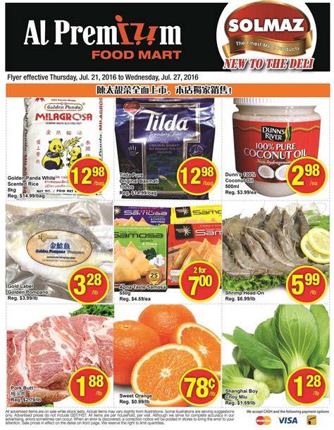 premium cuisine al premium food mart flyer july 21 to 27