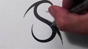 Download Tattoo Design Of Letter S | danielhuscroft.com