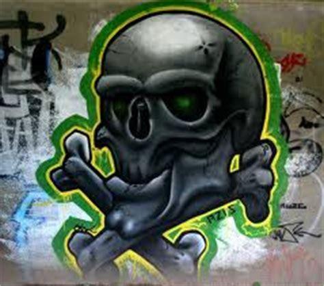 graffiti skull style wallpaper