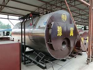 Food Processing Thermal Oil Heater Boiler Wet Back