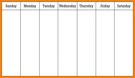 2 week calendar template 6 weekly calendar template new tech timeline