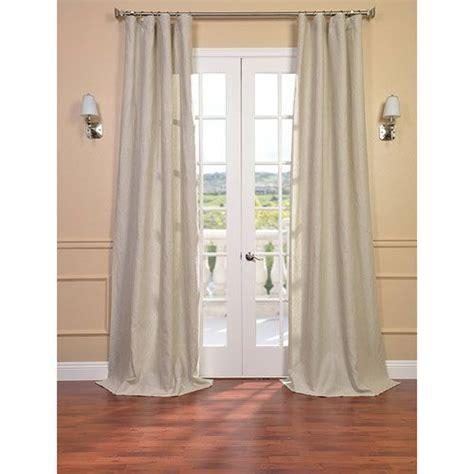half price drapes signature birch linen sheer