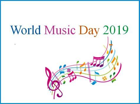 World Music Day 2019 Or Fête De La Musique On 21 June