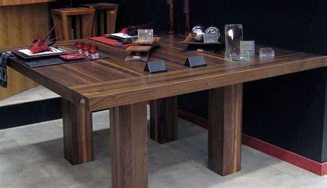 table de cuisine 8 places tables en bois massif signature stéphane dion