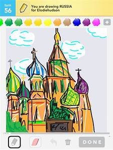 Russia Drawings - How To Draw Russia In Draw Something