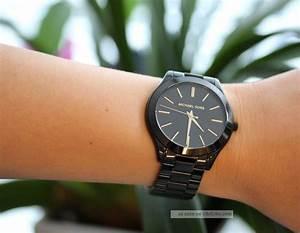 Michael Kors Uhr Auf Rechnung : michael kors uhr mk3221 slim runway schwarz damen edelstahl armbanduhr analogneu ~ Themetempest.com Abrechnung