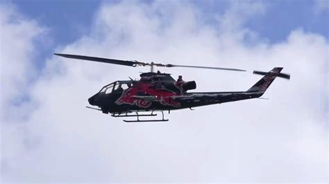 Bull Helicopter Pilot by Bull Cobra Helicopter Slashes Airport Building With Blades