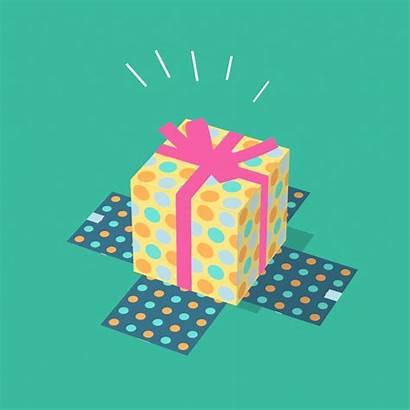Birthday Giphy Gifs Animated Animation Happy Gift