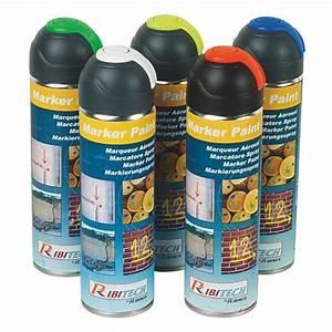 Bombe Aerosol De Peinture : bombe de peinture jaune fluo pour marquage 400 ml achat ~ Edinachiropracticcenter.com Idées de Décoration