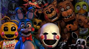 FNAF 2 All Animatronics attack - YouTube
