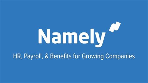 HR software platform Namely raises $45M; Sequoia Capital ...