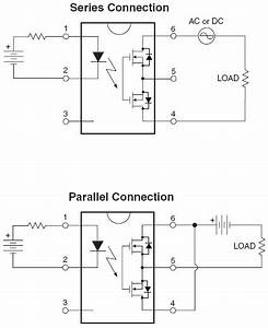 hsr412 solid state relay parallel circuit connection not With solid state relay wiring diagram in addition solid state relay circuit