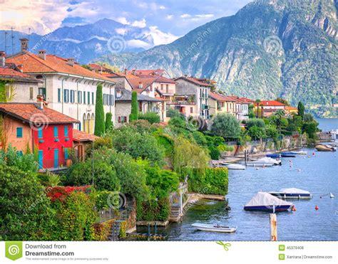 Como Lake Italy Stock Photo Image 45379408