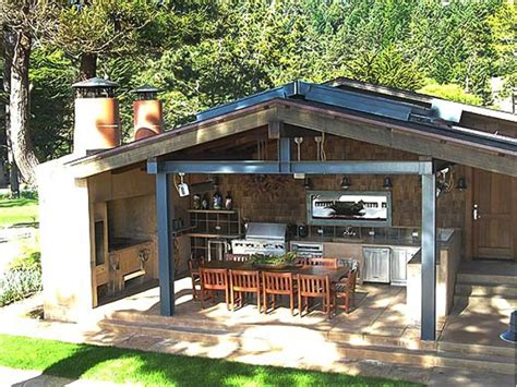 Backyard Bar Designs by Tips For An Outdoor Kitchen Diy