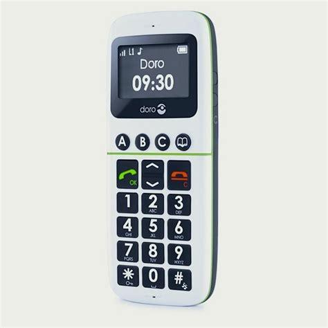 telephone portable avec le torche t 233 l 233 phone portable 224 grosses touches doro 338 blanc cflou
