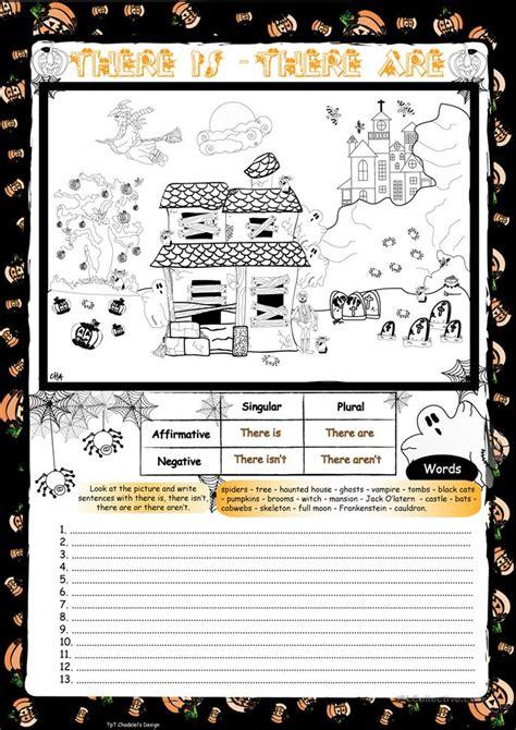 esl witch worksheets