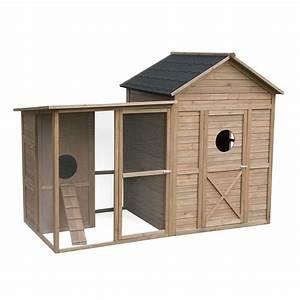 Cabane De Jardin En Bois : poulailler la cabane de jardin en bois fsc taupe ~ Dailycaller-alerts.com Idées de Décoration