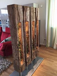 Holzbalken Als Raumteiler : raumteiler nature raumteiler dawanda und led leuchtmittel ~ Sanjose-hotels-ca.com Haus und Dekorationen