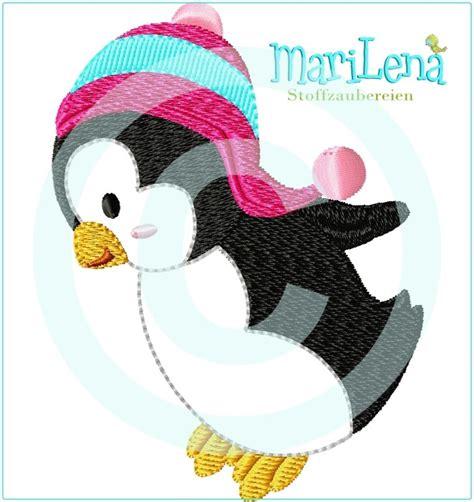 Penguin Applique by Penguin 4 Appliqu 233 4x4 Quot Marilena Stoffzaubereien