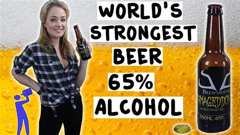 what light beer has the highest alcohol content the world strongest beer 65 alcohol tipsy bartender