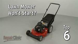 Top Reasons Lawn Mower Not Starting  U2014 Lawn Mower