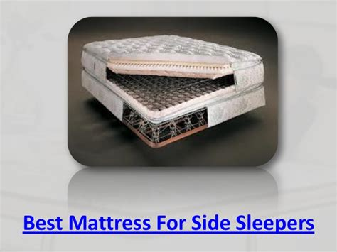 Best Beds For Side Sleepers best mattress for side sleepers