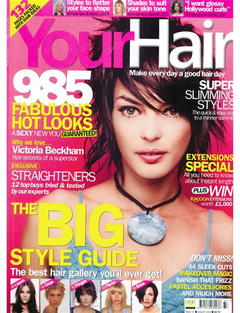hair magazine short hairstyles