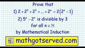 2 Mathematical Induction 2 2 2 2 3    2 N 2 2 N