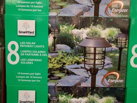 smartyard led solar pathway lights 10 lumens