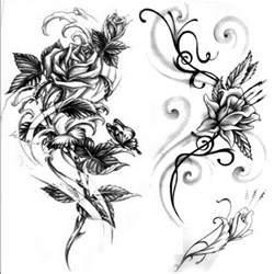 lilly flowers wzór tatuażu kwiat monika tatuaże