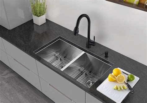bowl kitchen sink undermount types of kitchen sinks read this before you buy 8593