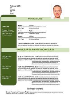 Exemple De Cv à Télécharger Gratuitement by Modele De Cv Originaux Gratuit A Telecharger Sle Resume