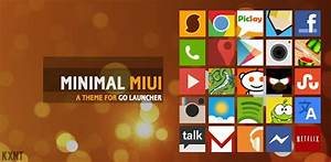 Go Launcher Minimal MIUI Theme 1.9 apk ~ Grab APK