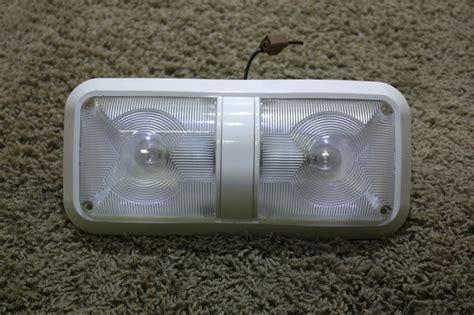 used lens rv ceiling light fixture for sale ebay